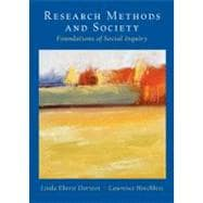 Research Methods and Society Foundations of Social Inquiry