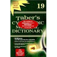 Taber's Cyclopedic Medical Dictionary : Indexed