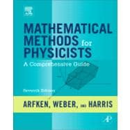 Mathematical Methods for Physicists : A Comprehensive Guide