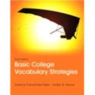 Basic College Vocabulary Strategies Plus MyReadingLab -- Access Card Package