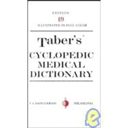 Taber's Cyclopedic Medical Dictionary: Deluxe/Indexed