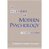History Of Modern Psychology- (Value Pack w/MySearchLab)