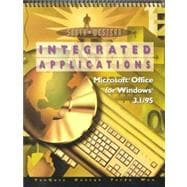 College Keyboarding, Microsoft Word 6.0/7.0--Integrated Applications 60 Lessons, Modules A-H