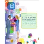 Basic Business Communication: Skills For Empowering the Internet Generation w/Student CD and PowerWeb
