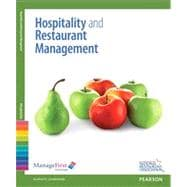 Managefirst Hospitality and Restaurant Management W/Paper and Pencil Answer Sheet and Test Prep Access Card Pkg