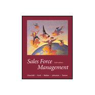 Sales Force Management
