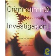 Criminal Investigation (Non-InfoTrac Version)