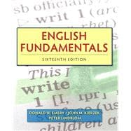 English Fundamentals Plus MyWritingLab with eText -- Access Card Package