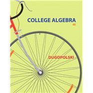 College Algebra, 6/e
