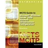 MCTS Guide to Microsoft Windows Server 2008 Network Infrastructure Configuration , 1st Edition