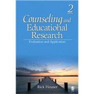 Counseling and Educational Research : Evaluation and Application