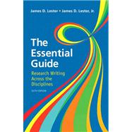 Essential Guide Research Writing Plus NEW MyCompLab -- Access Card Package