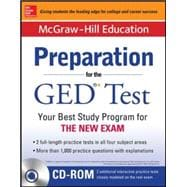 McGraw-Hill Education Preparation for the GED® Test with DVD-ROM