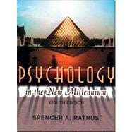 Psychology in New Millennium, Paper Edition (with InfoTrac and CD-ROM)