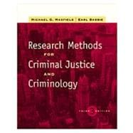 Research Methods for Criminal Justice and Criminology (with InfoTrac)