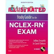 Illustrated Study Guide for the NCLEX-RN Exam (Book with CD-ROM)