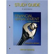 Study Guide for Financial Management : Core Concepts