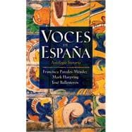 Voces de Espana : Antologia Literaria