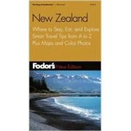 New Zealand : Where to Stay, Eat, and Explore, Smart Travel Tips from A to Z Plus Maps and Color Photos