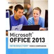 Video DVD for Vermaat's Microsoft Office 2013: Introductory