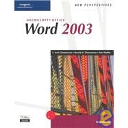 New Perspectives on Microsoft Office Word 2003, Introductory