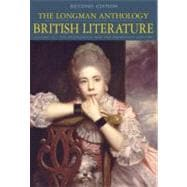 Longman Anthology of British Literature Vol. 1c : The Restoration and the 18th Century