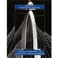 Student Solutions Manual for University Physics Volume 1 (Chs. 1-20)