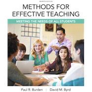 Methods for Effective Teaching, 7e