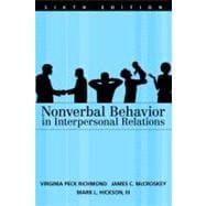 Nonverbal Behaviour in Interpersonal Relations