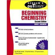 Schaum's Outlines of Beginning Chemistry