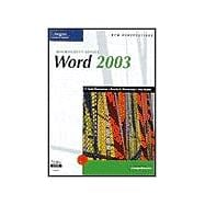 New Perspectives on Microsoft Office Word 2003: Comprehensive