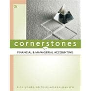 Cornerstones of Financial and Managerial Accounting, 2nd Edition