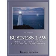 Business Law : Principles for Today's Commerical Environment