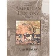 American History, Volume 1, with PowerWeb