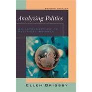 Analyzing Politics An Introduction to Political Science (with InfoTrac)