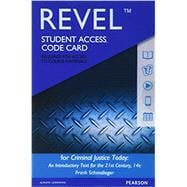 REVEL for Criminal Justice Today An Introductory Text for the 21st Century -- Access Card