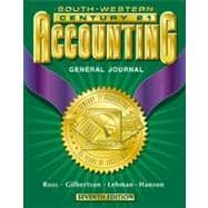 Century 21 Accounting General Journal Approach Student Textbook, Chapters 1-26