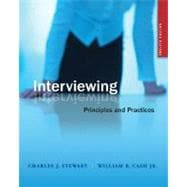 Interviewing : Principles and Practices