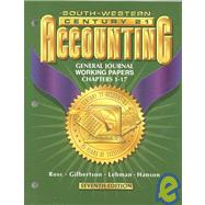 Century 21 Accounting: General Journal Working Papers Chapters 1-26