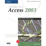 New Perspectives on Microsoft Office Access 2003: Comprehensive