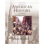 American History,Volume 2, with PowerWeb