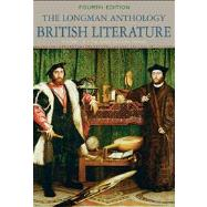 The Longman Anthology of British Literature, volume 1B The Early Modern Period with NEW MyLiteratureLab Access Code Card