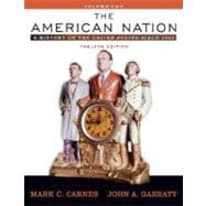 American Nation, The: A History of the United States since 1865, Volume II (with Study Card)