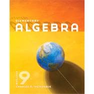 Elementary Algebra, 9th Edition