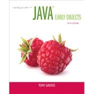 Starting Out with Java Early Objects