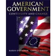 American Government : Continuity and Change 2002