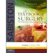 Sabiston Textbook of Surgery: The Biological Basis of Modern Surgical Practice (Book with Access Code)