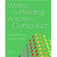 Writing and Reading Across the Curriculum Plus MyWritingLab with Pearson eText - Access Card Package