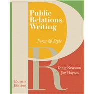 Public Relations Writing: Form and Style W/Errata Sheet
