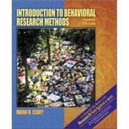 Introduction to Behavioral Research Methods : Research Edition